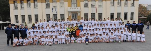 To Σάββατο η επίσημη φωτογράφιση των ακαδημιών ποδοσφαίρου
