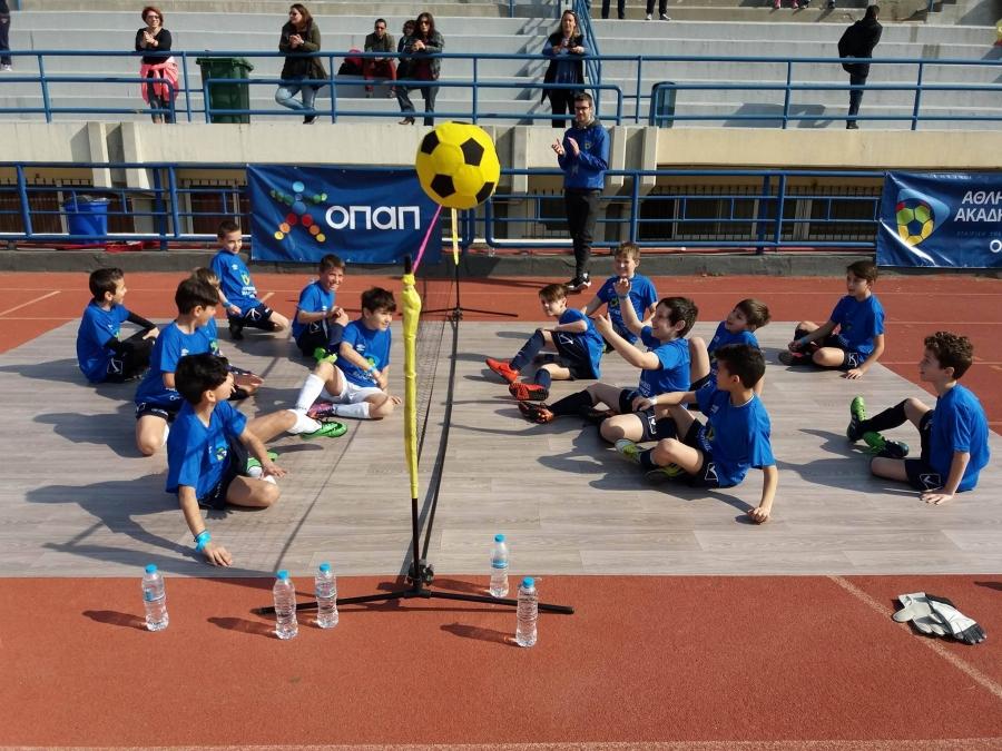 Ο Ποσειδώνας Καλαμαριάς παρών στην μεγάλη αθλητική γιορτή του ΟΠΑΠ για τις ακαδημίες στο Καυτανζόγλειο!